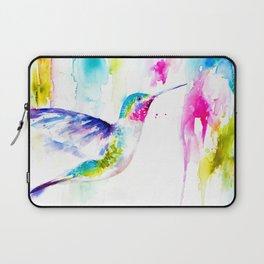Colorful Hummingbird Laptop Sleeve