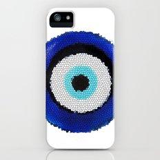 Blue eye Luck Slim Case iPhone (5, 5s)