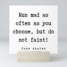 46     | Jane Austen Quotes | 190722 Mini Art Print