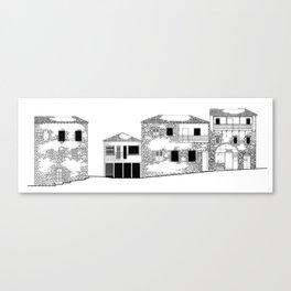Traditional Settlement Canvas Print