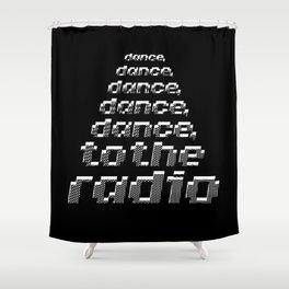 Transmission - Joy Division Shower Curtain
