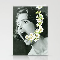 scream Stationery Cards featuring Scream by Ben Giles