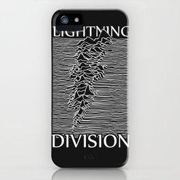 Lightning Division iPhone Case