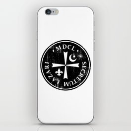 Knights Of Lazarus Discovery Of Witches iPhone Skin