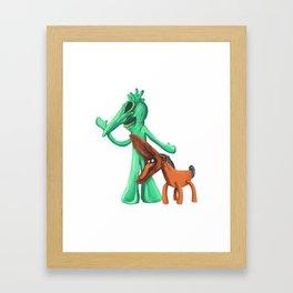 Gumbyjuice Framed Art Print