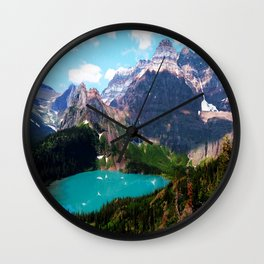 Leaving the magical passage Wall Clock