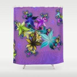 A FLOWERY MEADOW Shower Curtain
