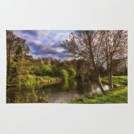 The River Kennet At Burghfield Rug