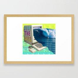 SVRF D4 W3B Framed Art Print