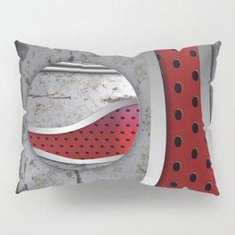 3D Metal textured design Pillow Sham