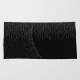 Matrix Void Beach Towel