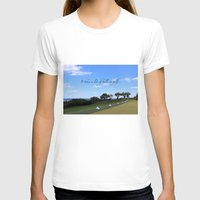 golf T-shirts featuring Golf by Rebecca Bear