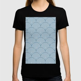 Scales - Blue & White #453 T-shirt