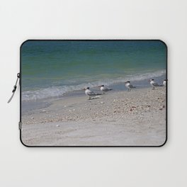 Dolphin Watching on Lover's Key Laptop Sleeve