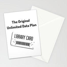 Original Data Plan Stationery Cards