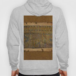 Ancient Egyptian Funerary Scroll pre 944 BC Hoody