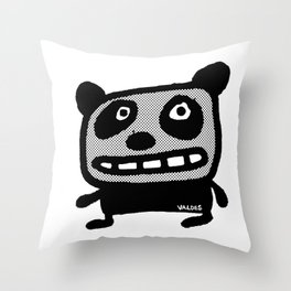 Graphic Panda! Throw Pillow