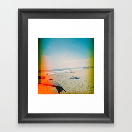 Coronado [Lo-Fi] Framed Art Print
