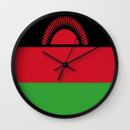 Flag of Independent Malawi Wall Clock
