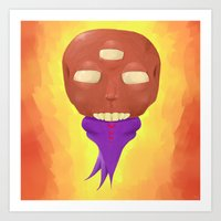 ohm Art Prints featuring ohm by Jamie Ross