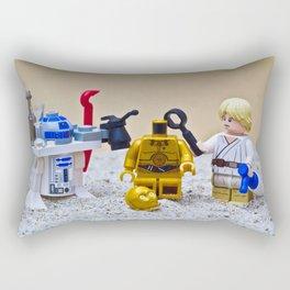 Bung Droid Rectangular Pillow