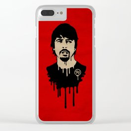 FooFighter Clear iPhone Case