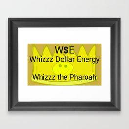 Whizzz the Pharoah Framed Art Print
