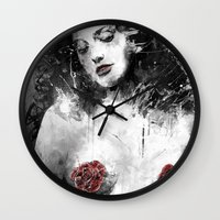 milk Wall Clocks featuring Mother's Milk by Fresh Doodle - JP Valderrama