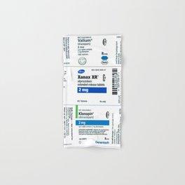 Drug Labels Hand & Bath Towel