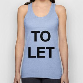 TO LET 01 Unisex Tank Top