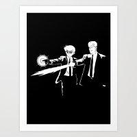 Spirit Fiction Art Print