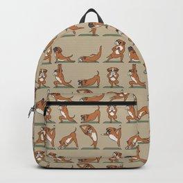 Boxer Yoga Backpack