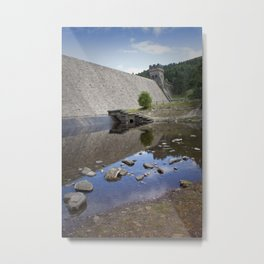 Mighty Wall Across the Valley Metal Print