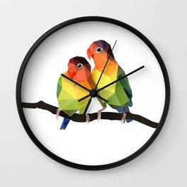 Love Bird. Wall Clock