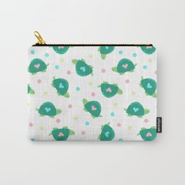 Heart Turtles Carry-All Pouch