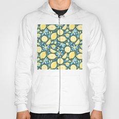 Lemon Pattern Green Hoody