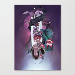 The Dreamteller of Sleeparalysis Canvas Print