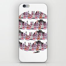 Bear and macaroons!  iPhone & iPod Skin