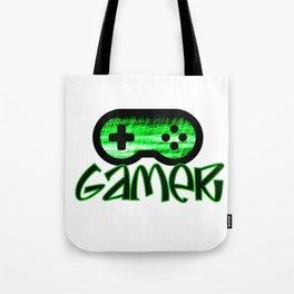 Gamer Green Tote Bag