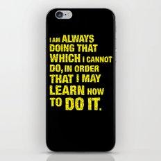 Do it. iPhone & iPod Skin
