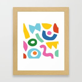 Geom Framed Art Print