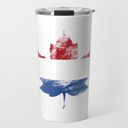 Netherlands/Canada Travel Mug