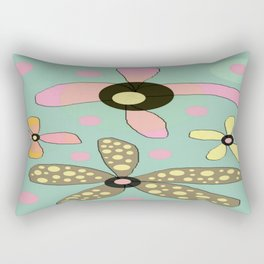 FLOWERY IDA  / ORIGINAL DANISH DESIGN bykazandholly Rectangular Pillow