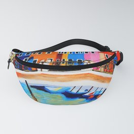 Colors of Venice Italy Fanny Pack