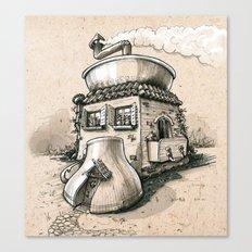 Coffee House Canvas Print