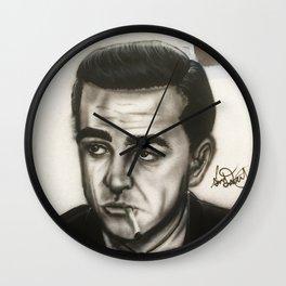 Sean Connery James Bond Portrait Wall Clock