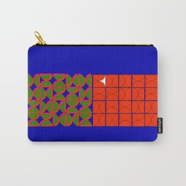 overlaid semi circles Carry-All Pouch