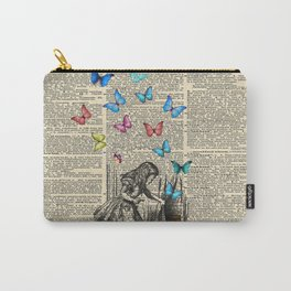 Alice In Wonderland - Let The Adventure Begin Carry-All Pouch