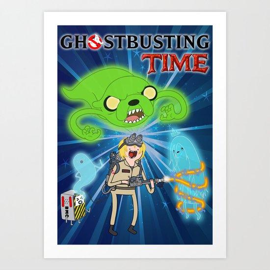 Ghostbusting Time Art Print