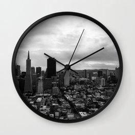 San Francisco Monochrome Wall Clock